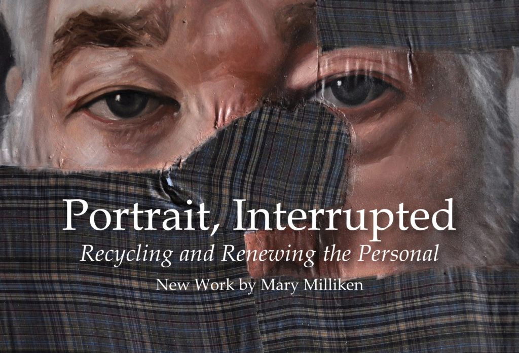 Mary Milliken Solo Show Portrait Interrupted ARTS Council Evelyn Peeler Peacock Gallery